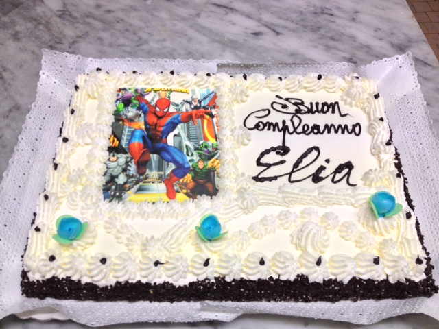 Torta compleanno personalizzata